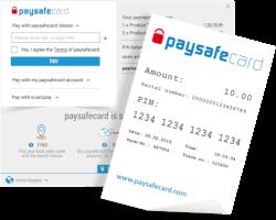 Paysafecard online betaling